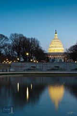 Capitol Reflection at Lower Senate Park
