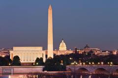 Classic View of Washington, DC