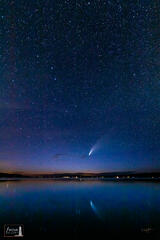 Comet NEOWISE over Crystal Lake