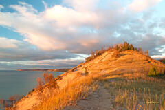 Fall Sunset at Old Baldy