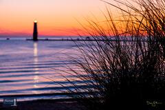 Frankfort Beach Sunset