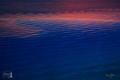 Lake Michigan Sunset Ripples