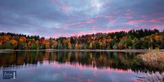 Last Light - Fall Sunset