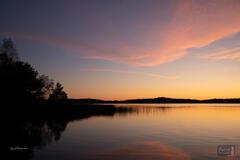 Lower Herring Lake Sunset