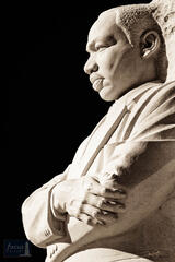 Statue of Dr. King (Sepia)
