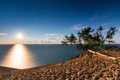 Lake Michigan Overlook, Michigan, NPS, National Park Service, Pierce Stocking Scenic Drive, SLBE, Sleeping Bear Dunes National...