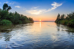 Platte Lake Sunset