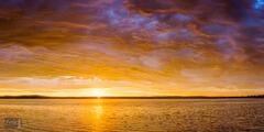 Skyfire Sunrise over Platte Lake