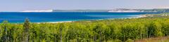 Sleeping Bear Dune and Empire Bluffs Panorama