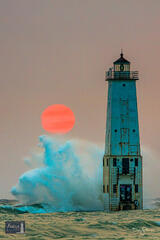 Smoky Splashy Sunset