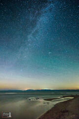 Stars and the Milky Way at Platte River Point