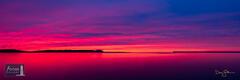 Surreal Sunset at Good Harbor Bay