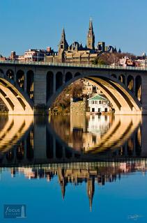 Georgetown and Key Bridge