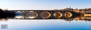 Key Bridge Reflection