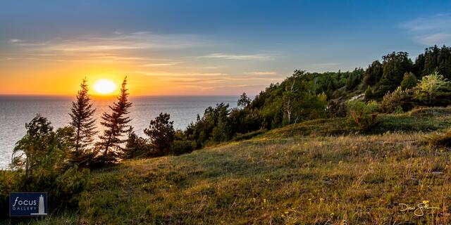 Sunset at High Bluff Dunes