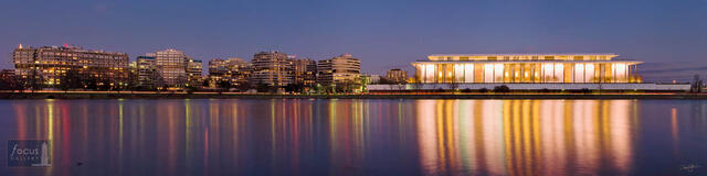 The Kennedy Center and Watergate at Nightfall