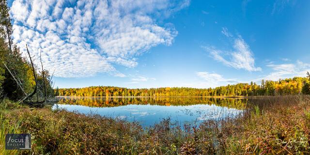 Lower Woodcock Lake Autumn Vista
