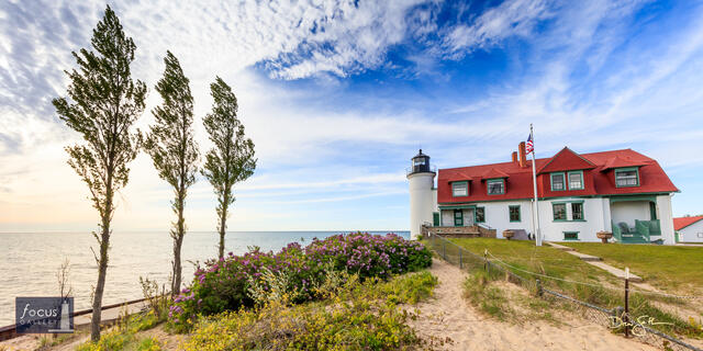Point Betsie Wide-Angle