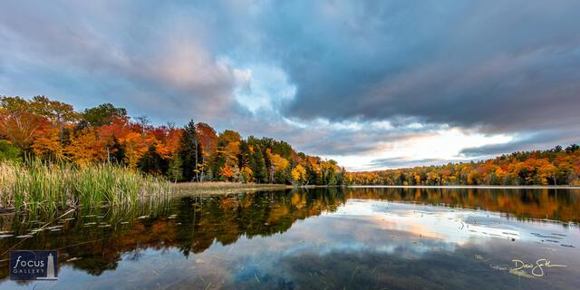 Soft Autumn Sunset