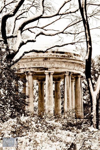World War I Memorial (Sepia)