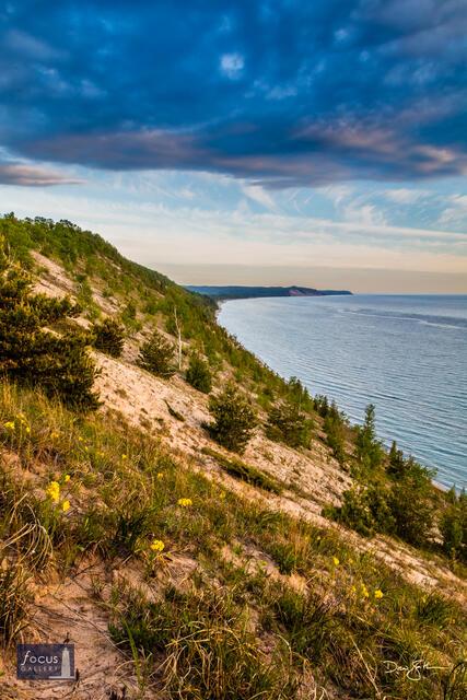 GTRLC, Grand Traverse Regional Land Conservancy, Lake Michigan, Michigan, dune,
