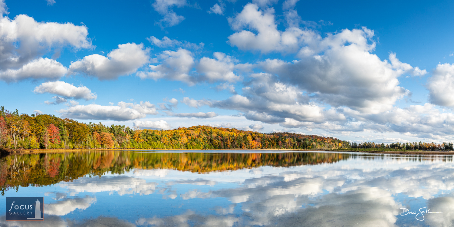 Photo © Drew Smith Round Lake is one of many small inland lakes that dot the Sleeping Bear Dunes National Lakeshore.  I photographed...