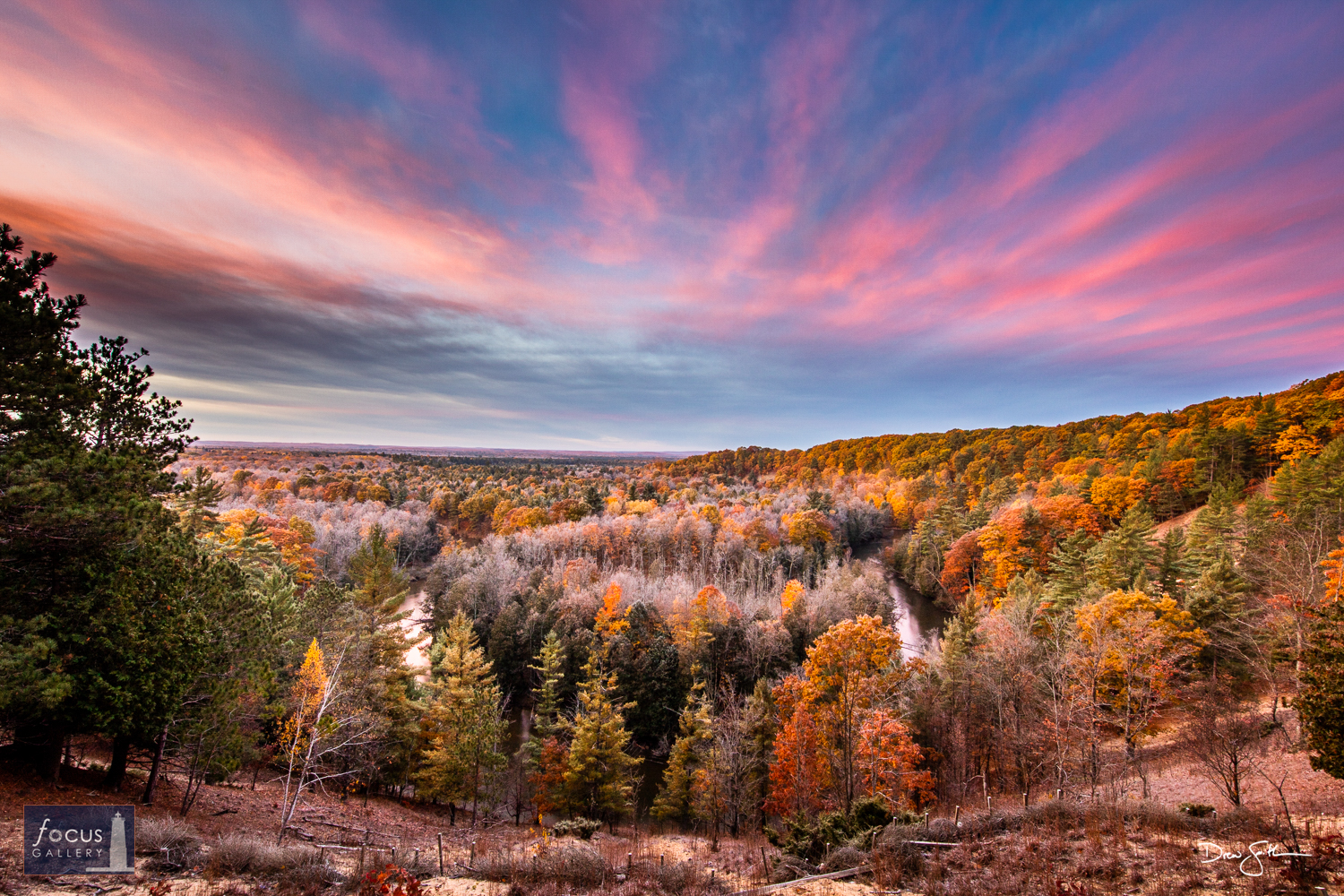 Photo © Drew Smith The Manistee River High Banks Rollaway is a scenic overlook in Manistee County located along the North Country...