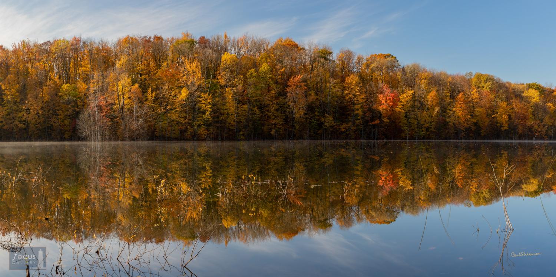 Photo © Carl Freeman One of many small lakes near the village of Lake Ann.