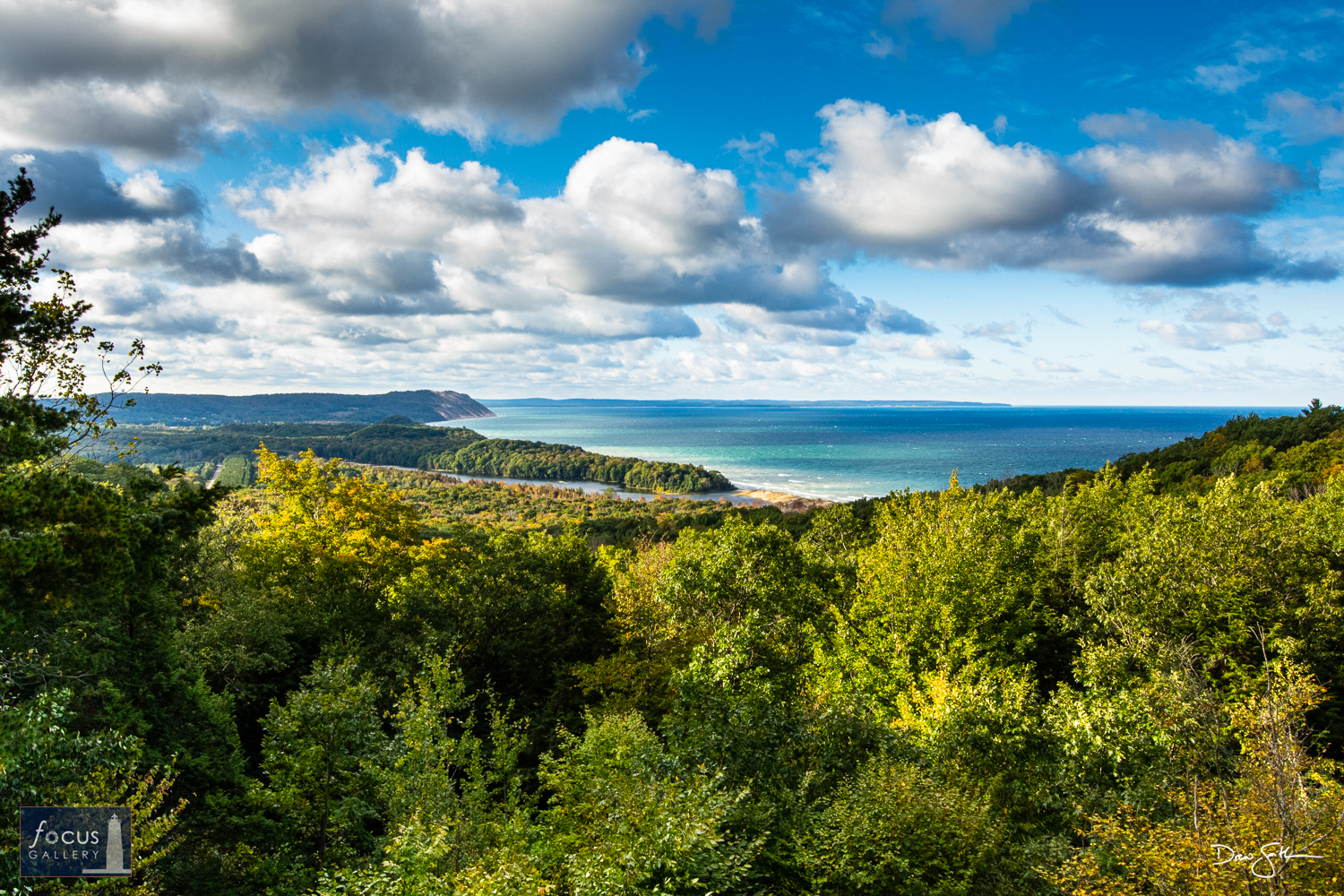 Photo © Drew Smith The last stop on the Pierce Stocking Scenic Drive is the North Bar Lake Overlook, which gives a beautiful...