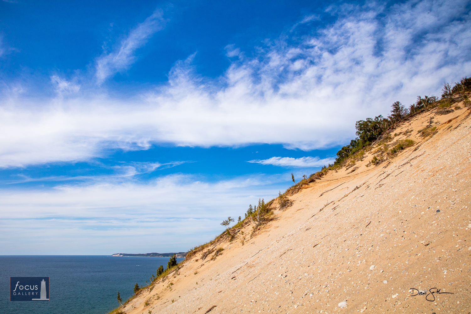 Photo © Drew Smith You really get a sense of the size and scale of the dunes along Lake Michigan when you are out on Old Baldy...